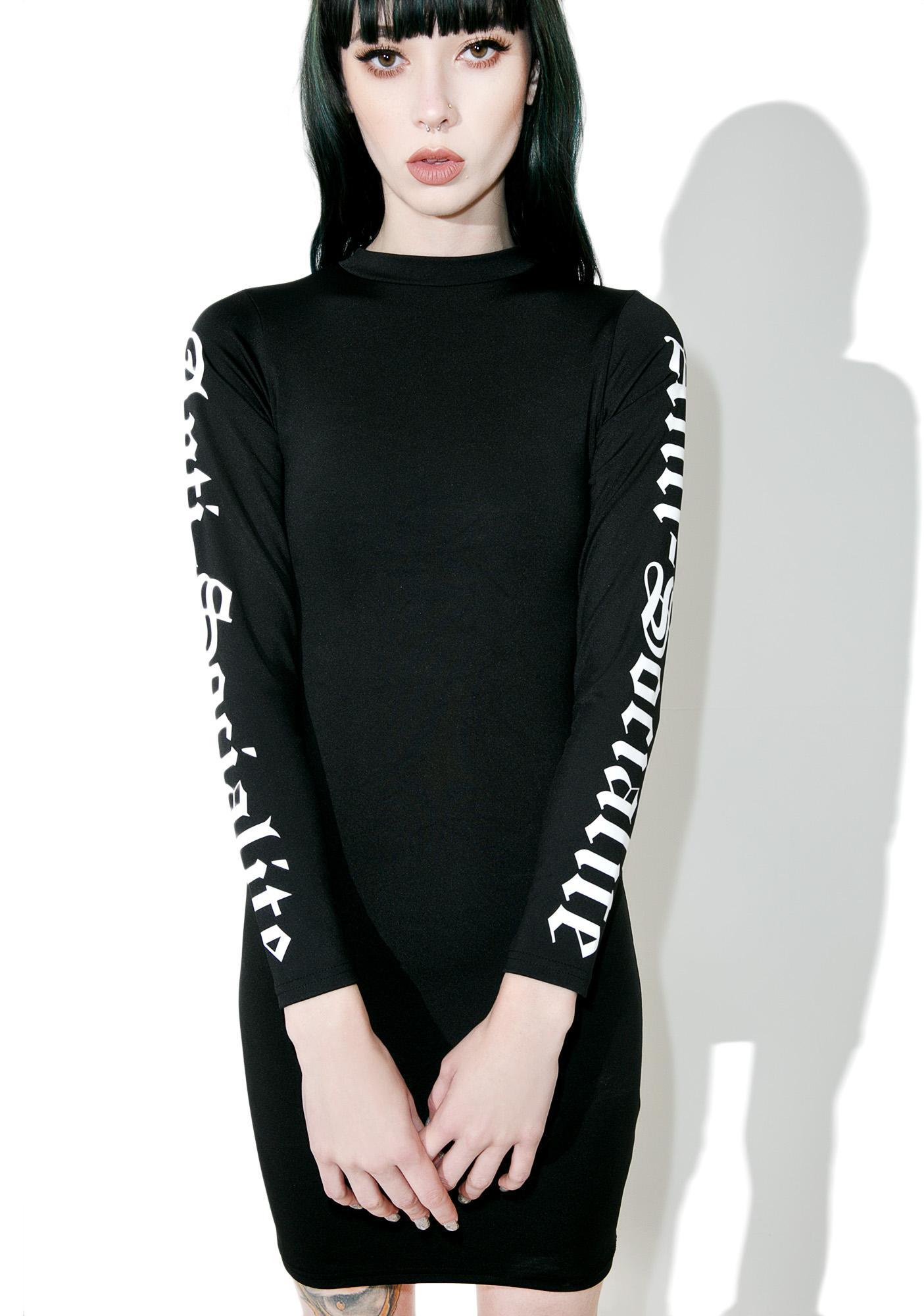 Disturbia Anti-Socialite Bodycon Dress