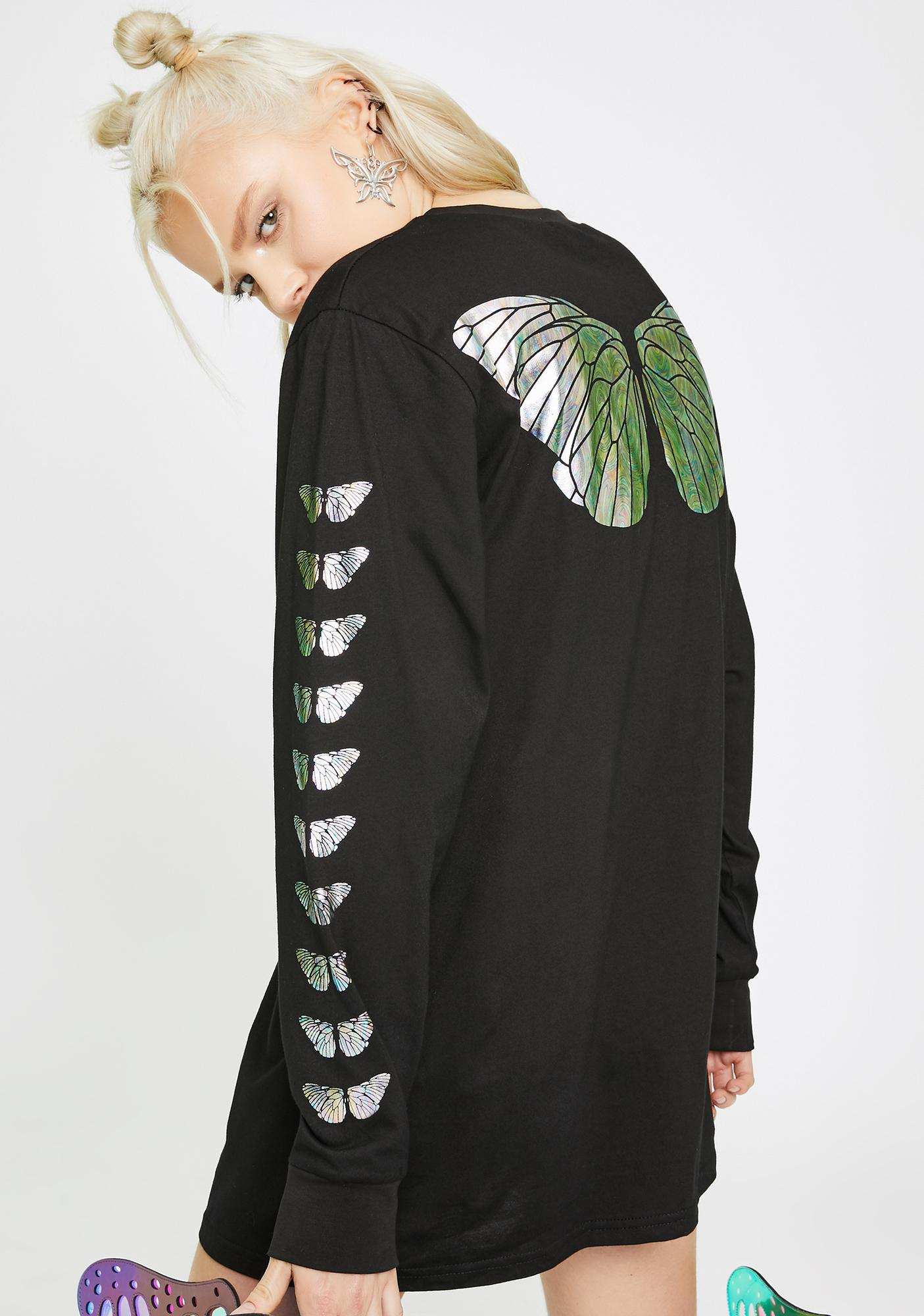 Club Exx Butterfly Effect Graphic Tee