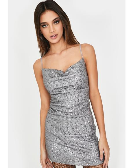 Silver Paiva Mini Dress