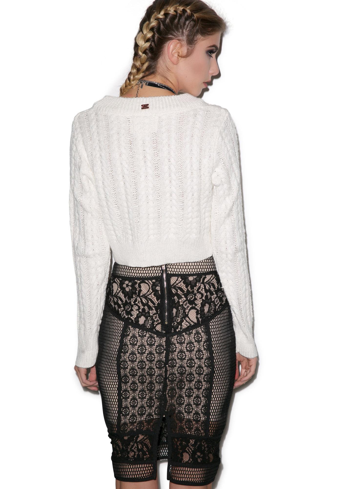 Garden Of Eden Lace Skirt