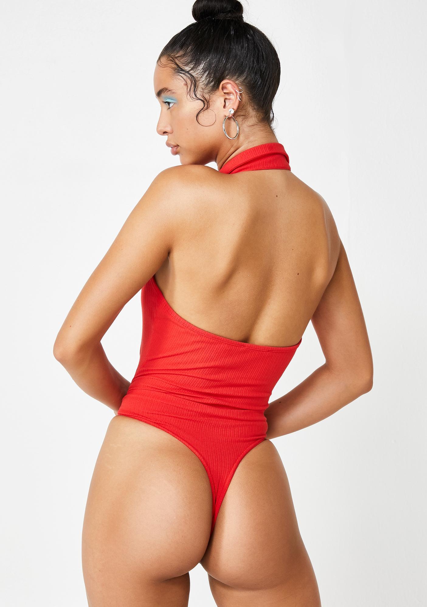 Spicy Posh Club Polo Bodysuit