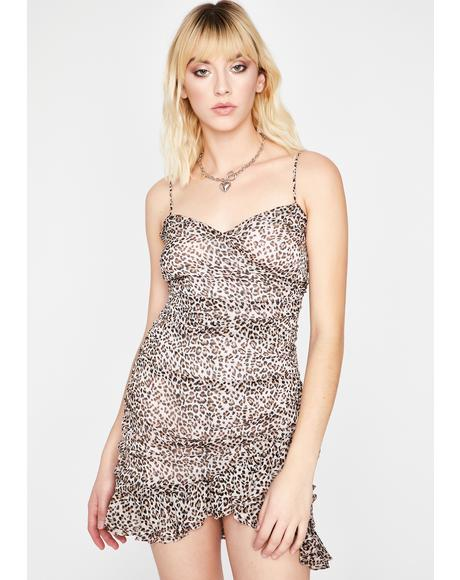 Prowling For Keeps Mini Dress