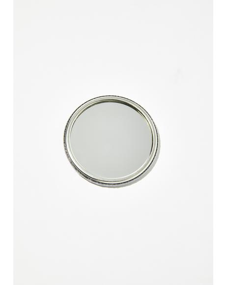 Lucky Number 8 Compact Mirror