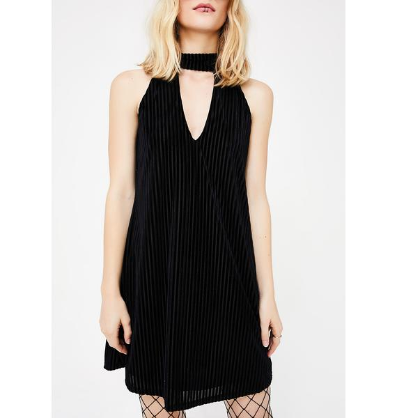 Dancin' Forever Velvet Dress