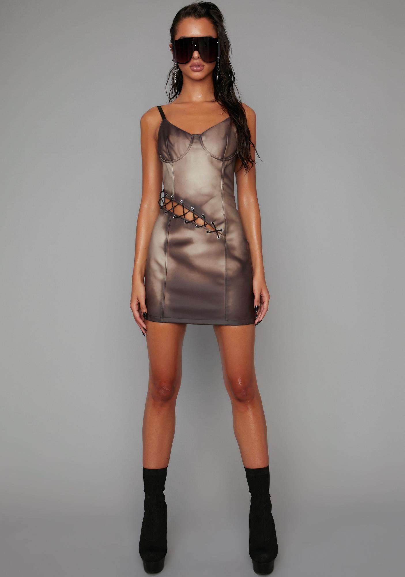 Poster Grl Just A Touch Heat Reactive Dress