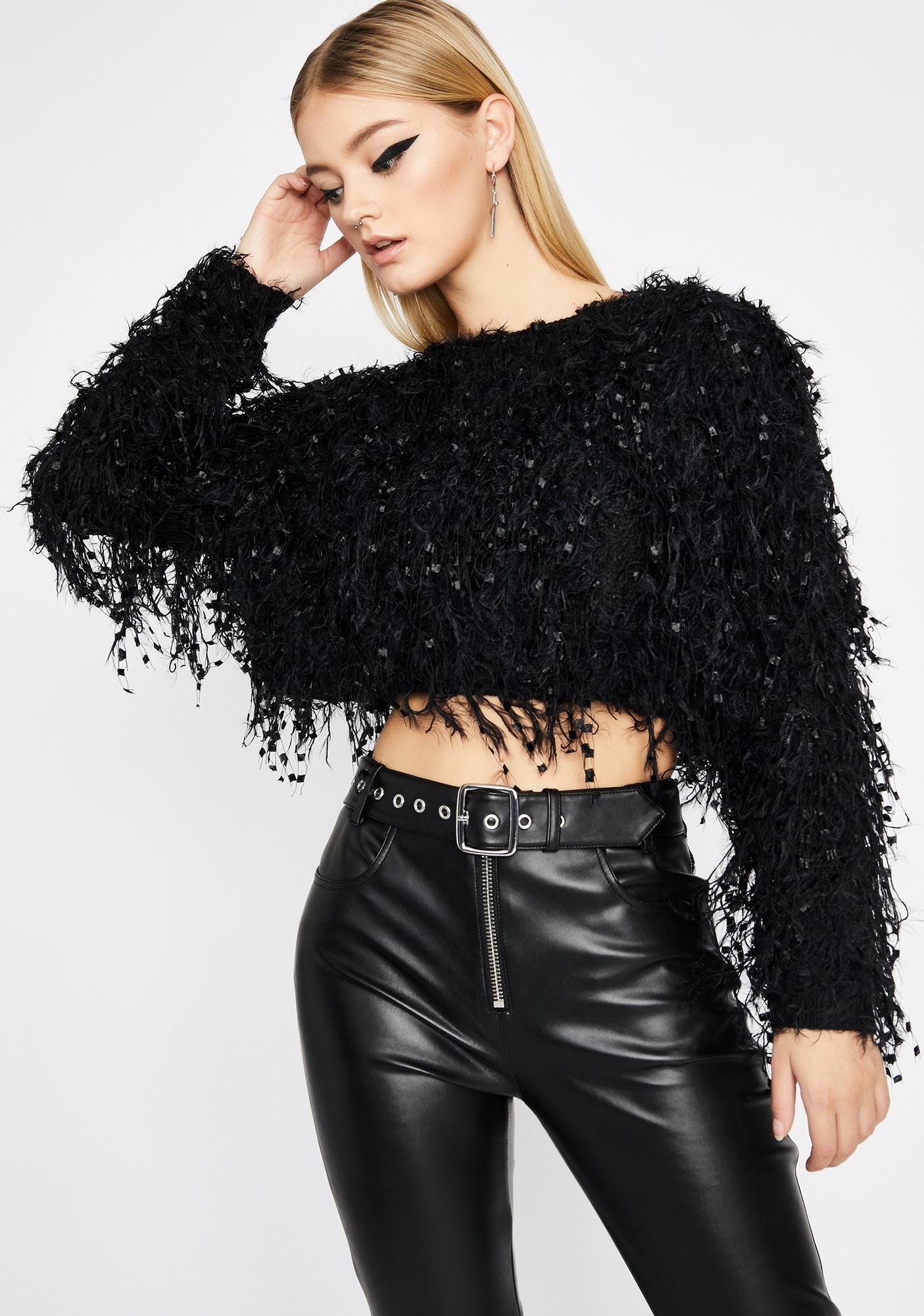 Let's Get Festive Fringe Sweater