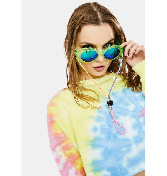 Pastel Please Rainbow Sunglasses Chain