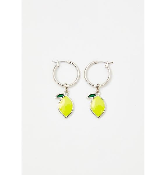 Make Lemonade Acrylic Earrings