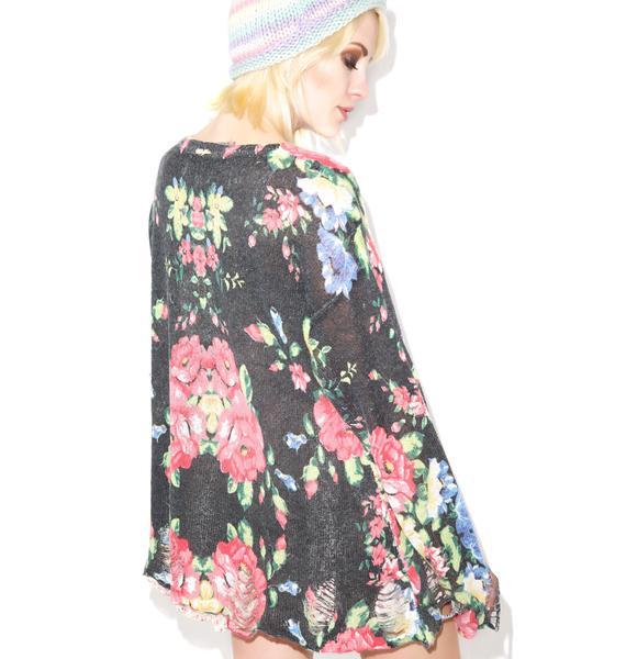 Wildfox Couture Jane's Sofa Lenon Sweater