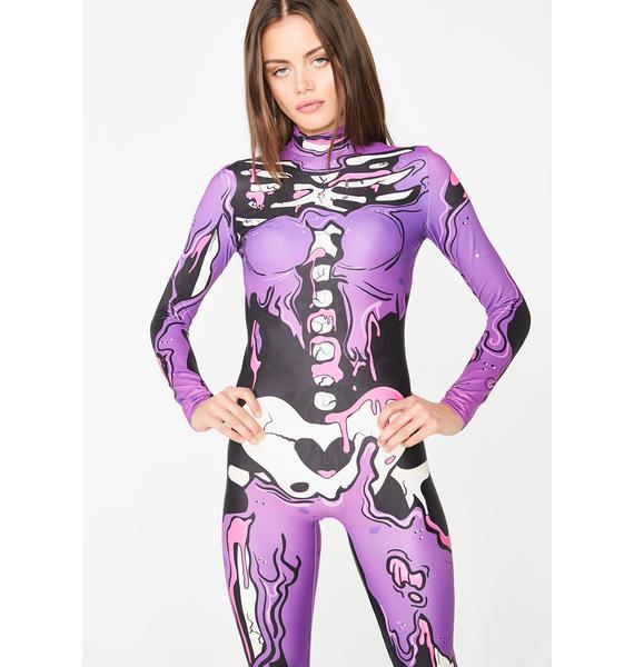 Badinka Purple Pop Art Costume