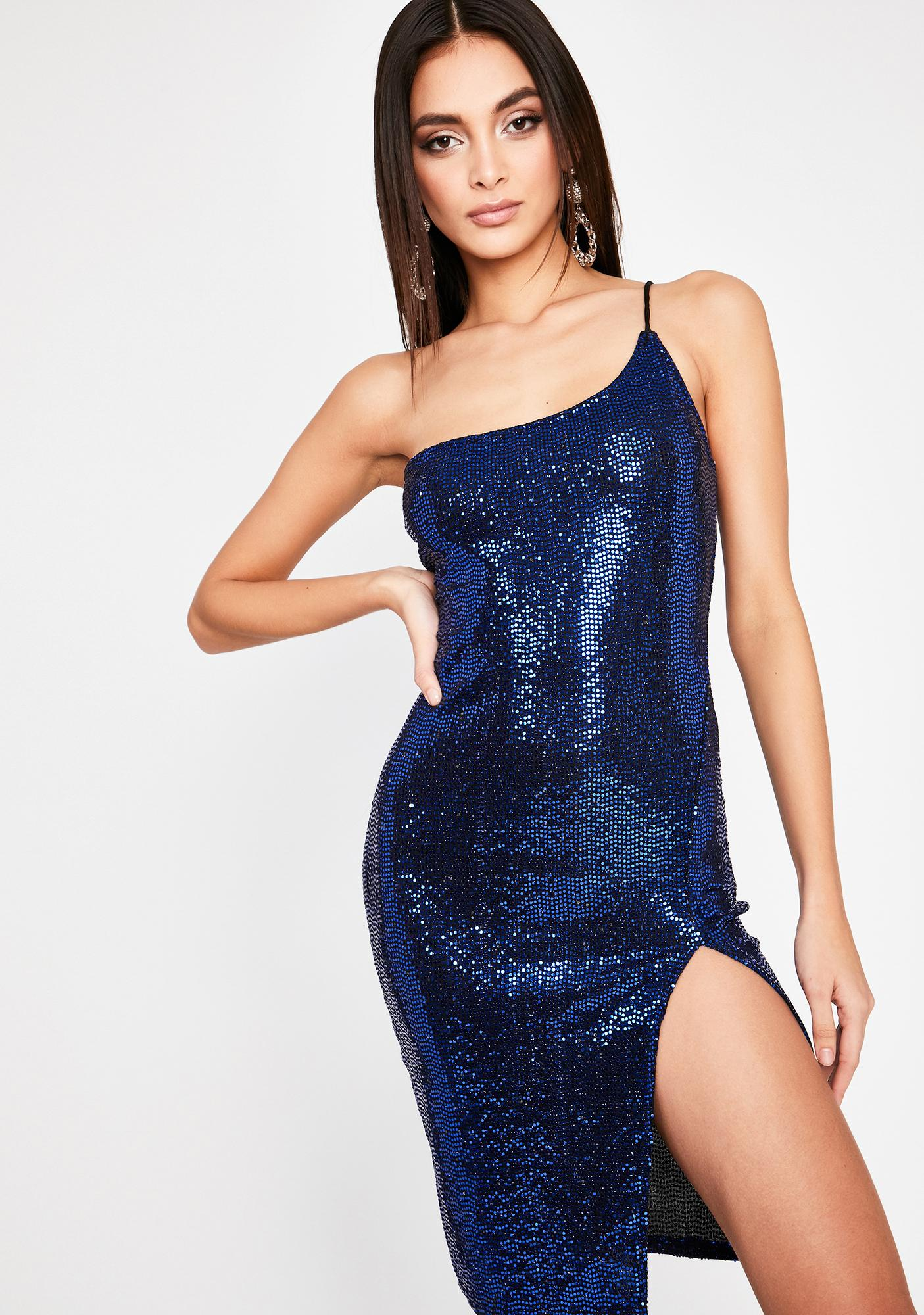 Award Winner Sequin Dress by Dolls Kill