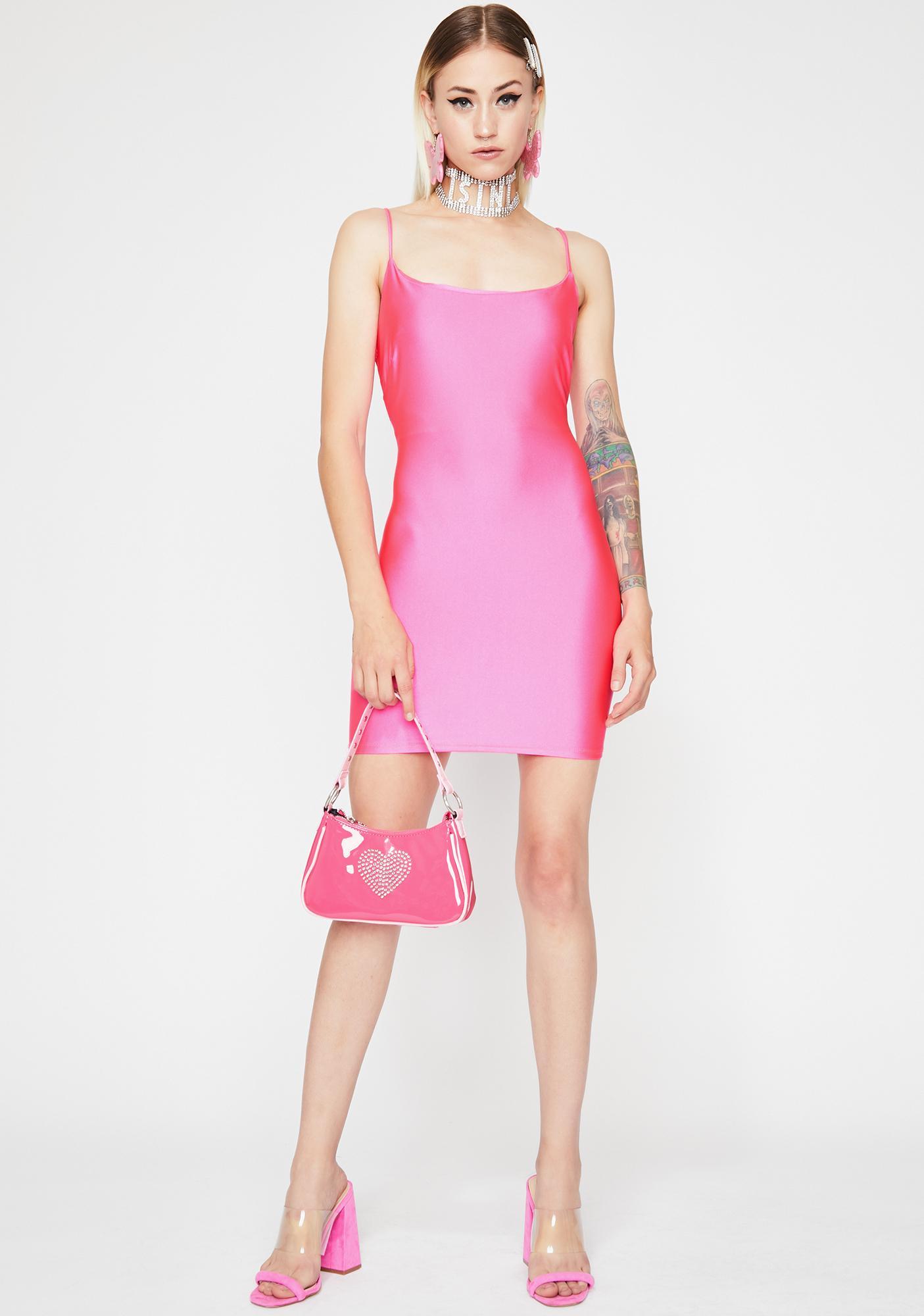 Candy Circuit Cascade Bodycon Dress