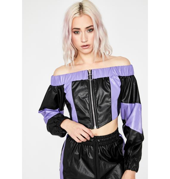 Lonely Road Off The Shoulder Top