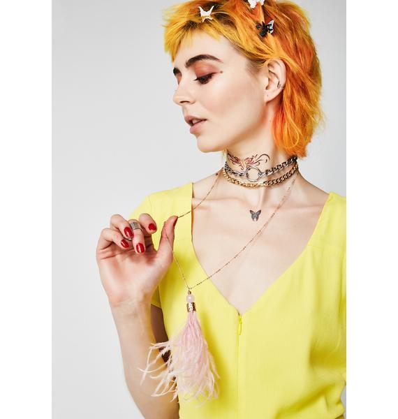 Oh So Fancy Tassel Necklace
