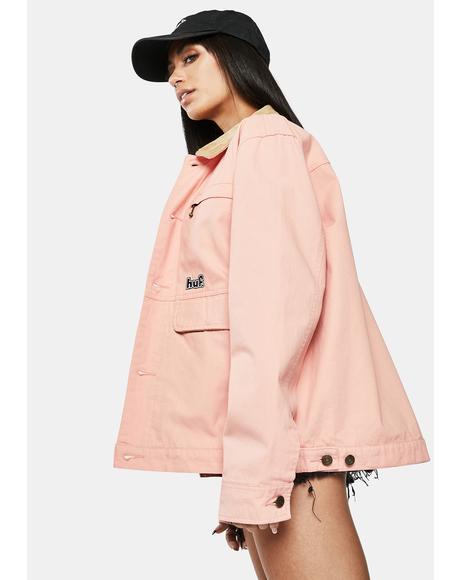 Coral Pink Remington Jacket