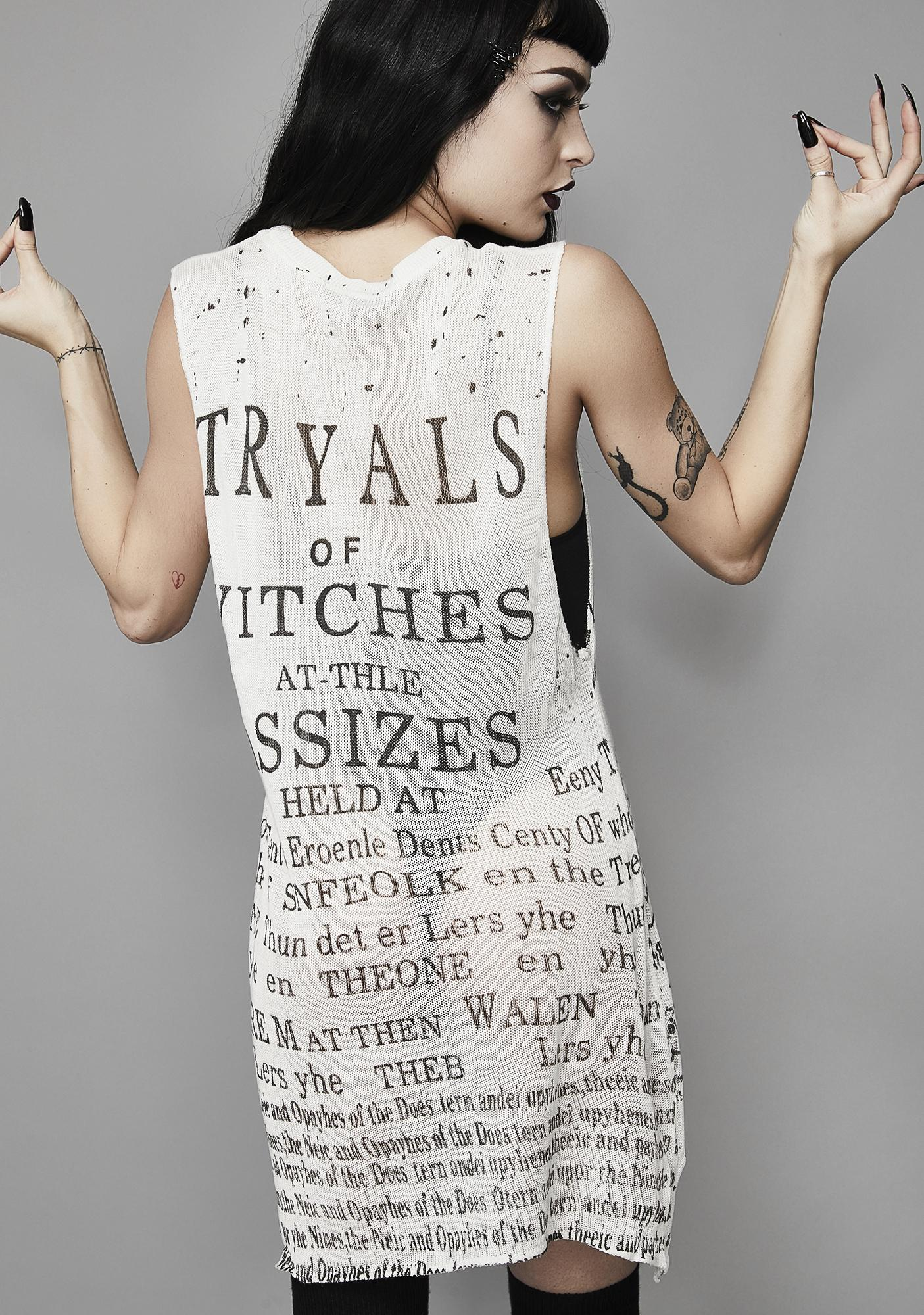 Widow Pure Witch Trials Tank Top