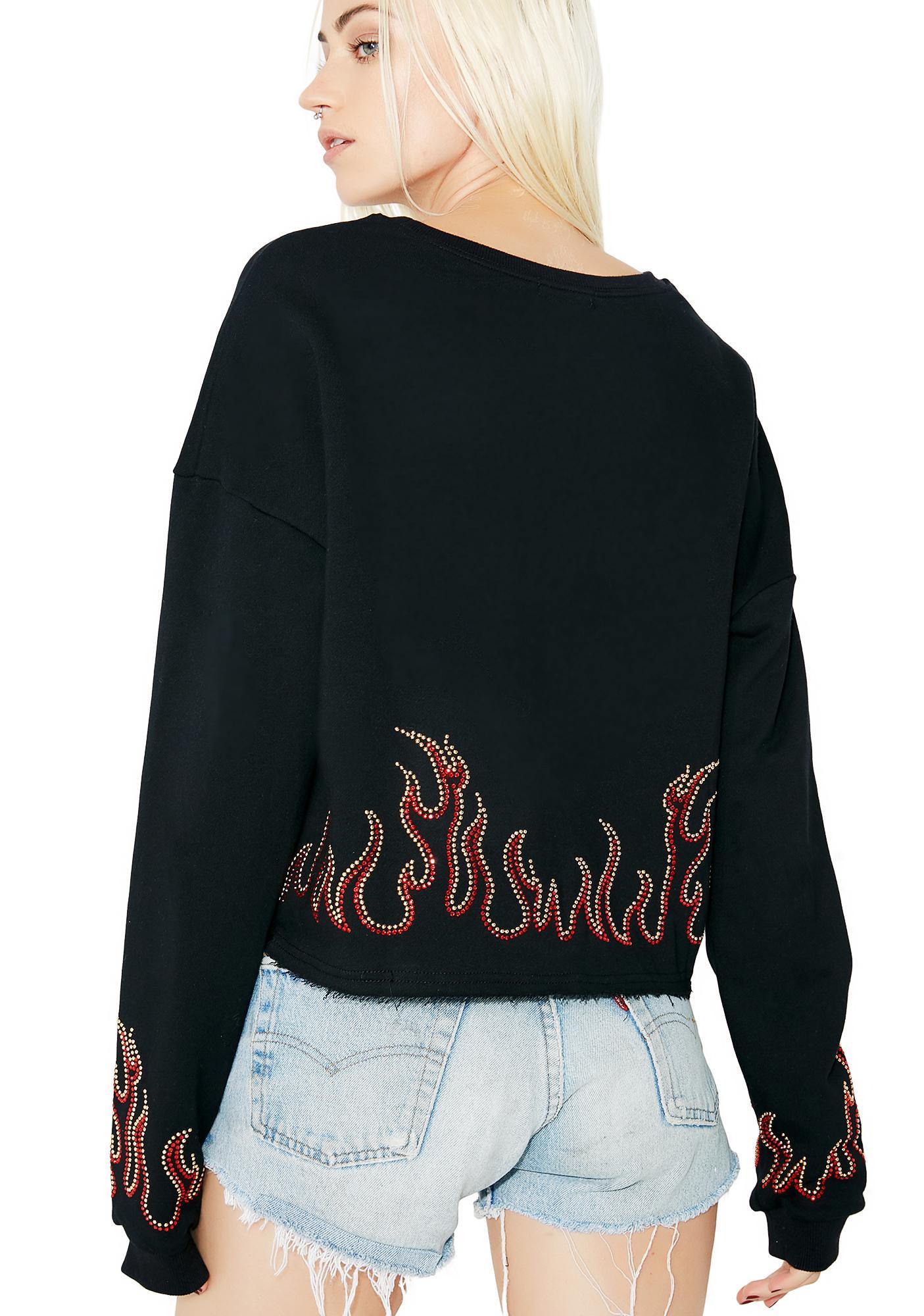 Heatin' Up Crewneck Sweatshirt