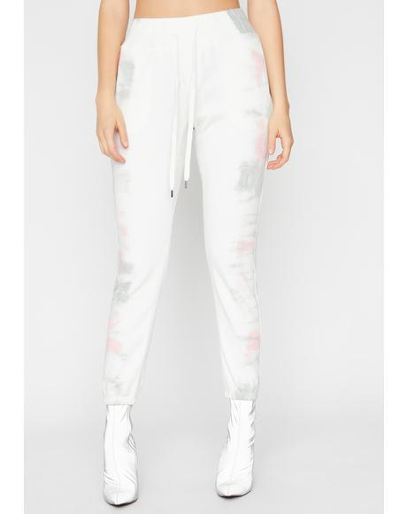 Icy Girl Tie Dye Joggers