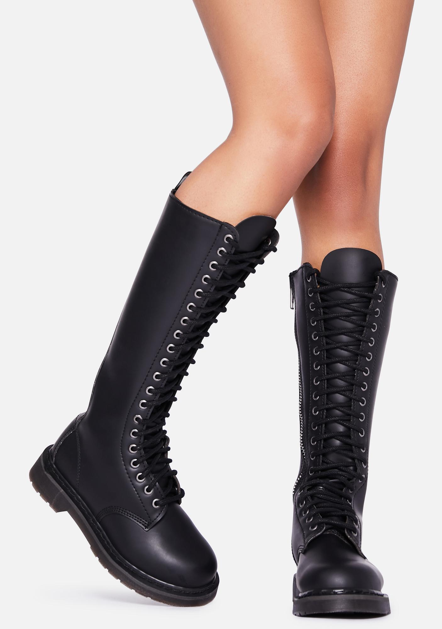 Demonia Total Mayhem Combat Boots