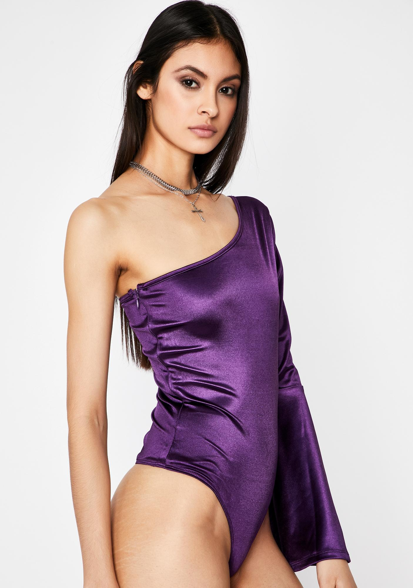 Gem Begin To Forget One Shoulder Bodysuit