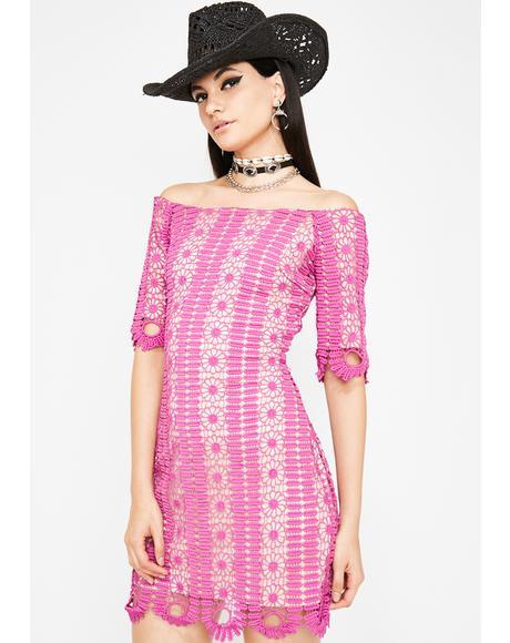 Angelic Kisses Crochet Dress