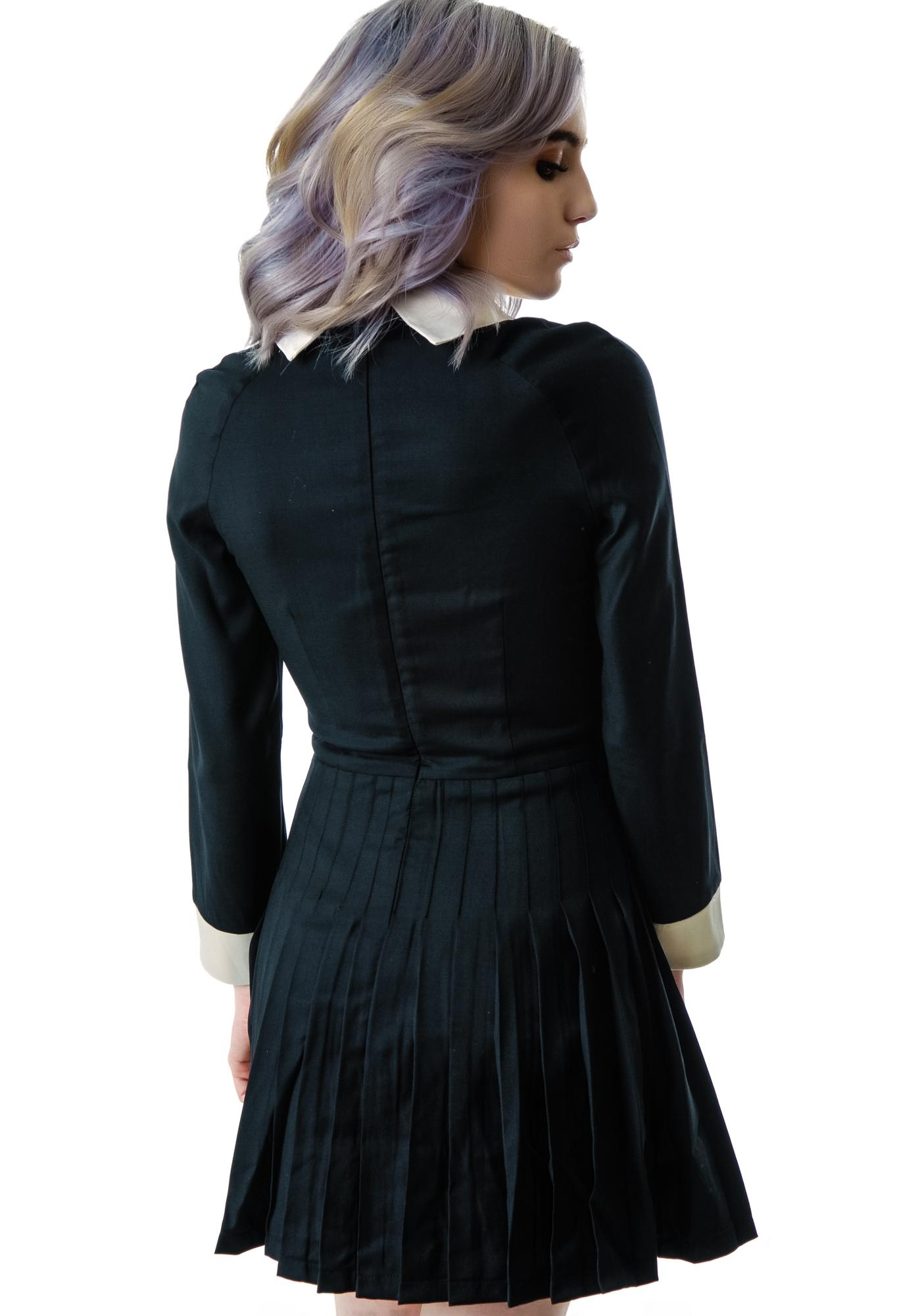 L'ecole des Femmes Belle de Jour Pleated Dress