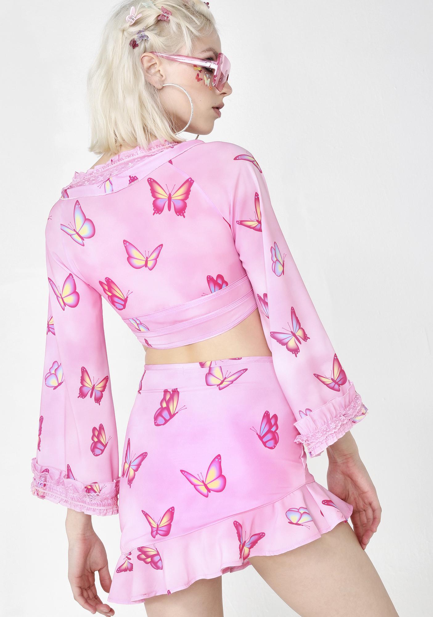 Sugar Thrillz Pampered Pixie Butterfly Skirt