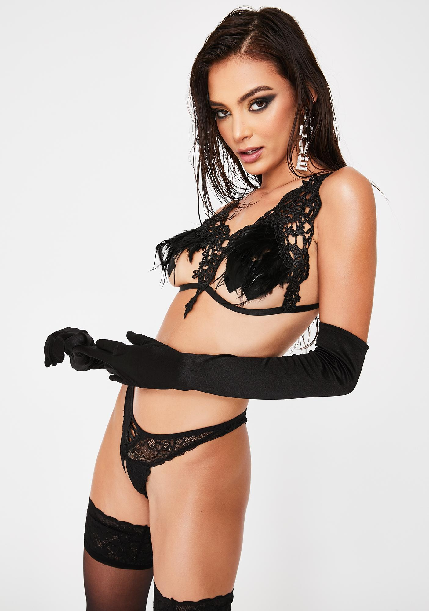 Completely Indiscreet Lace Harness
