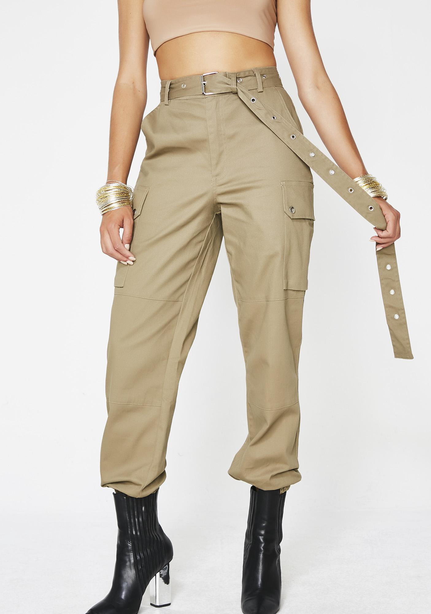Shroom Raider Cargo Trousers by Hot Delicious
