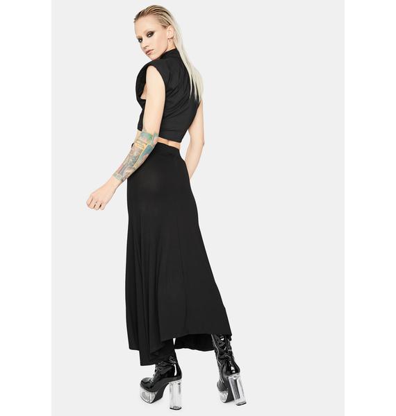 Always Chic Slit Maxi Skirt
