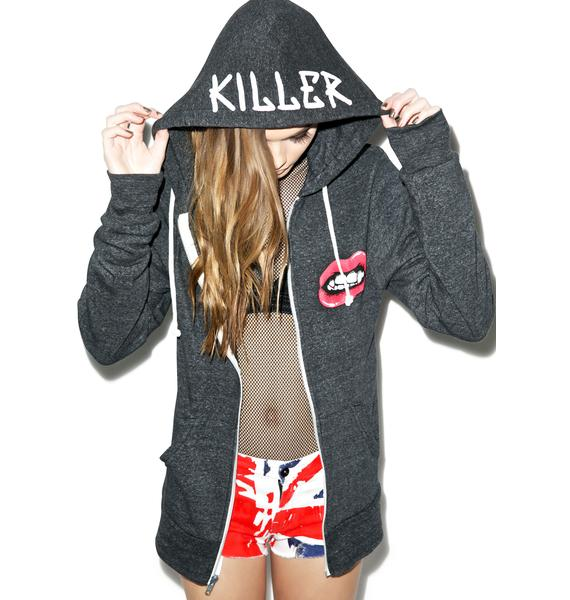 Kill Brand Top Killer Zip Up Hoodie