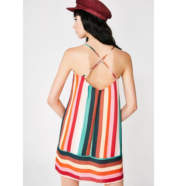 Candy Paradise Striped Dress