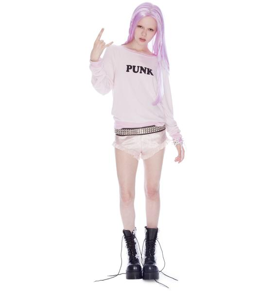 Wildfox Couture Punk Baggy Beach Jumper