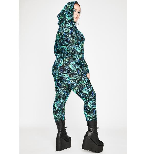 Mystic True Haute Crush Hooded Jumpsuit