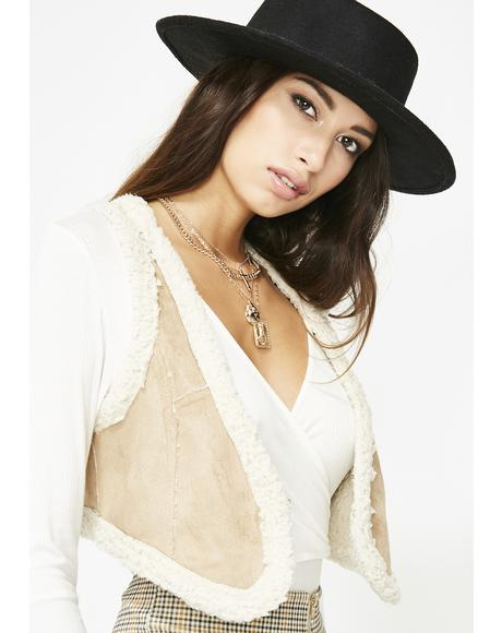 Rodeo Dough Faux Suede Vest