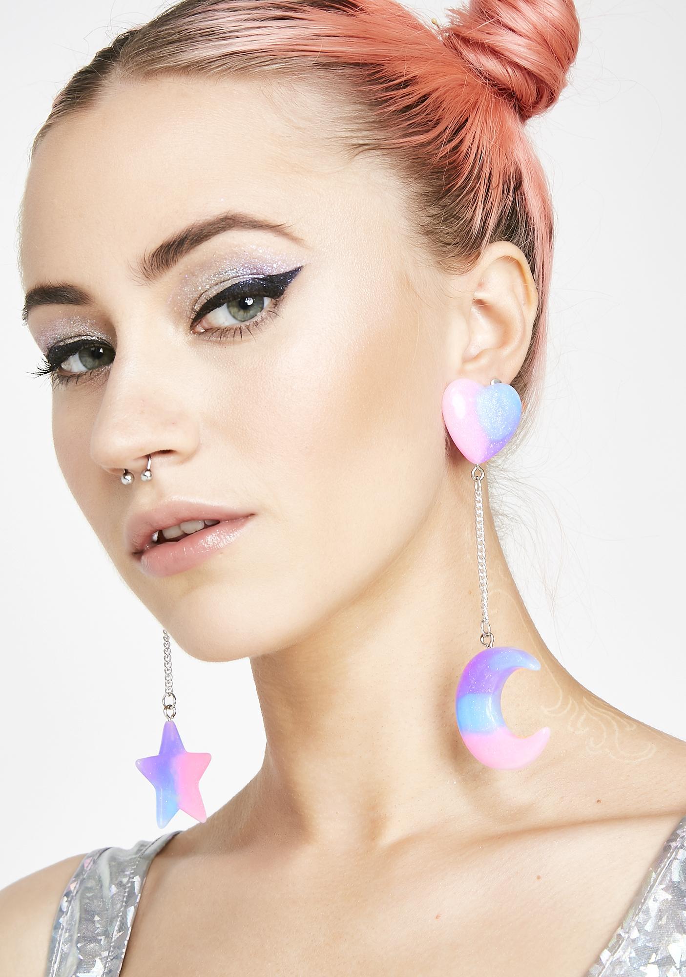 Moonbeams Earrings