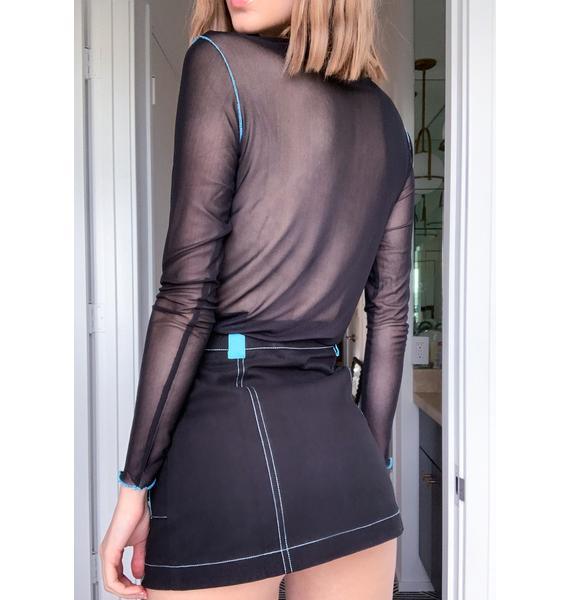 HOROSCOPEZ Challenge Accepted Mini Skirt