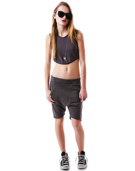 Ali Drop Crotch Short
