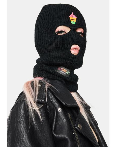 Black Not For Skiing Mask