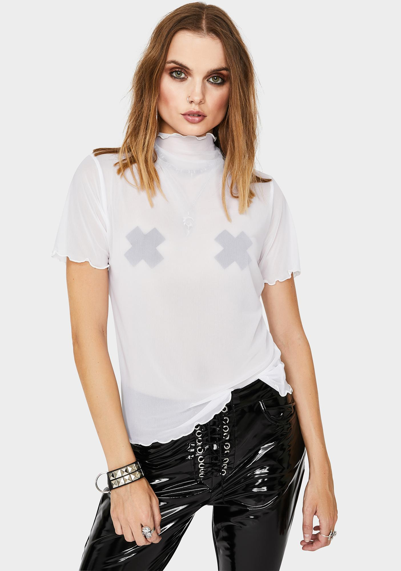 Chill Lil Preview Sheer Top