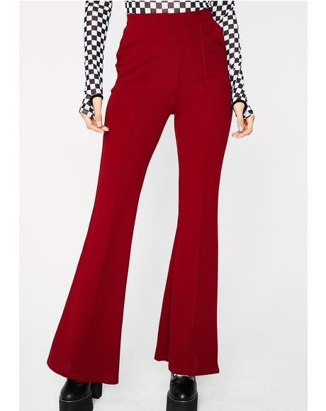 Do It Again Flare Pants
