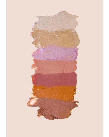 Tanned Peach Matte Bronzer Multistick