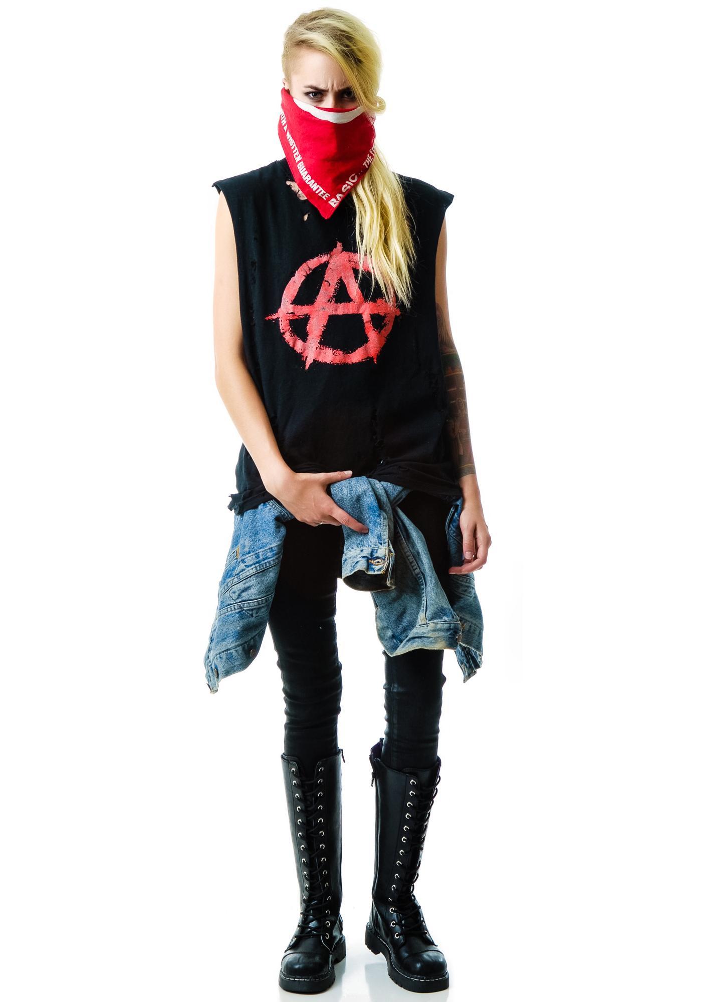 Christian Benner Anarchy Sleeveless Tee