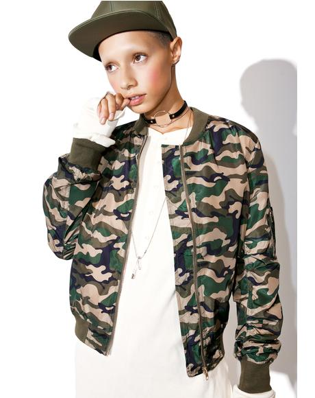 Concrete Jungle Camo Jacket