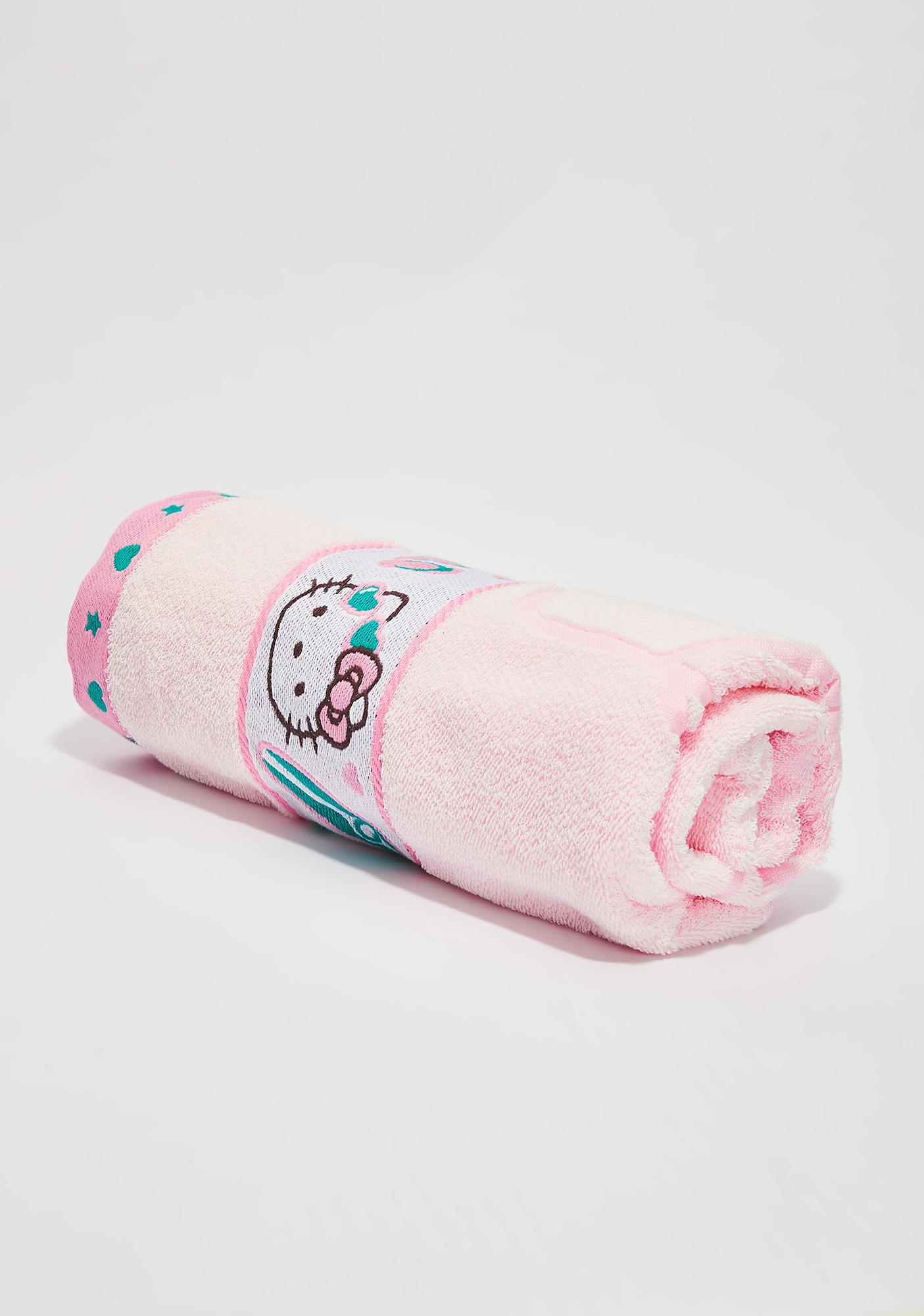 Sanrio Pink Beach Towel