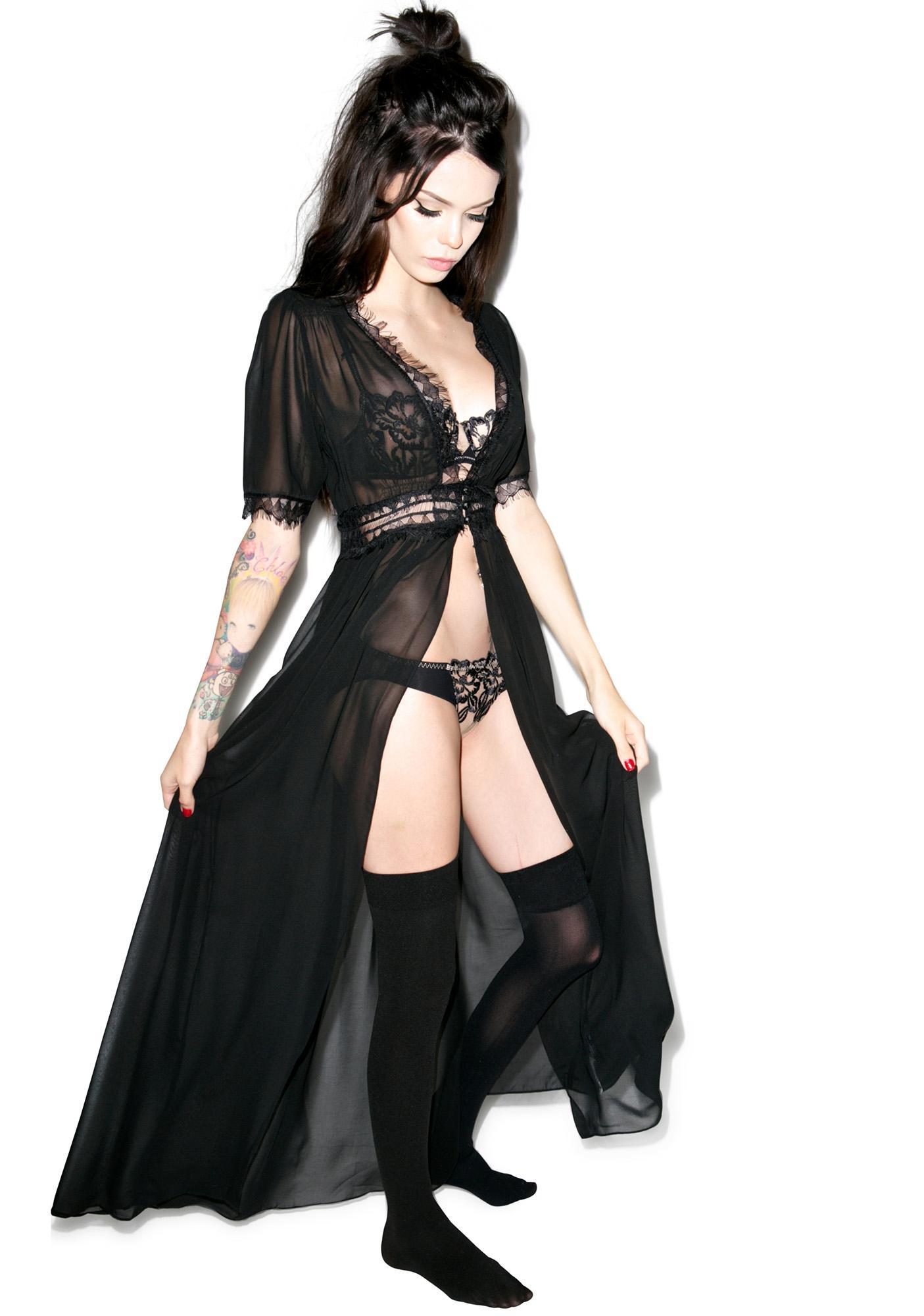 Widow Calypso Chiffon Over Dress