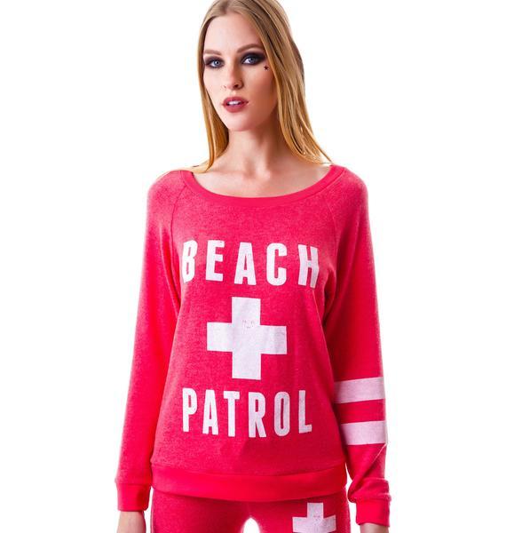 Beach Patrol Long Sleeve Top