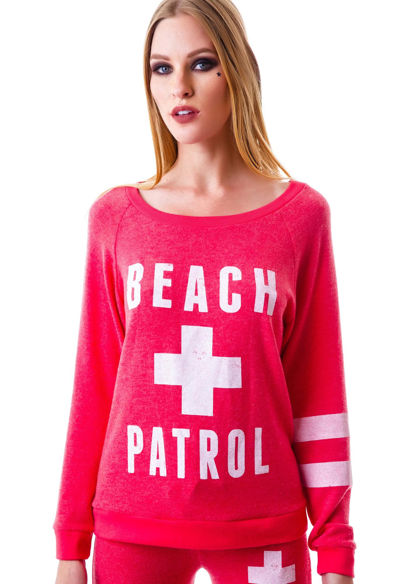 Beach Patrol Long Sleeve Top