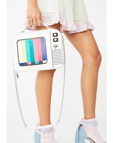 Color Bar Shoulder Bag