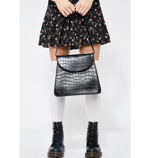 Granny Vibez Embossed Handbag